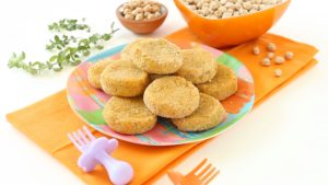 Crispy and Simple Golden Chickpea Nuggets. Meatless + Iron Boosting