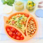 Healthy & Easy Chickpeas Zucchini Pesto Pasta – One family, one recipe.